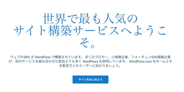 WordPress(サイト作成ツール)